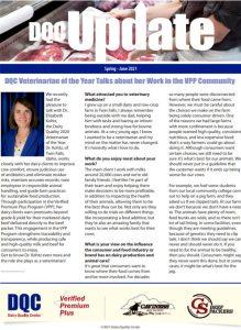 Dairy Quality Center 2021 Spring Newsletter